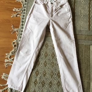 Baby Pink Vintage High Waisted Guess Jeans